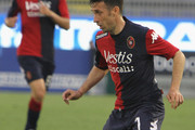 Andrea Cossu of Cagliari during the Serie A match between at Stadio Sant'Elia on April 19, 2015 in Cagliari, Italy.