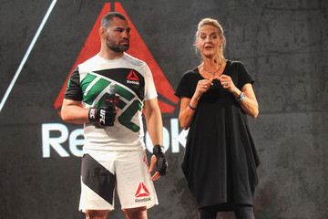 Cain Velasquez Launch of the Reebok UFC Fight Kit