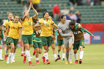 Caitlin Foord Australia v Sweden: Group D - FIFA Women's World Cup 2015