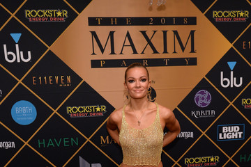 Caitlin O'Connor 2018 Maxim Party Co-Sponsored by blu