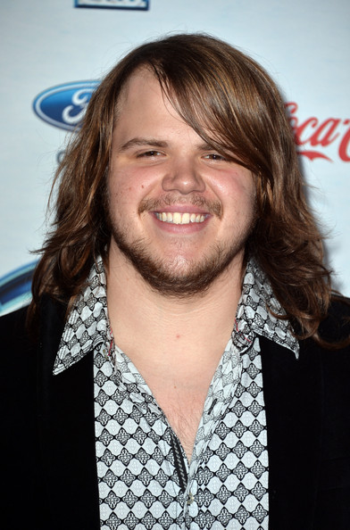 "Caleb Johnson Finalist Caleb Johnson attends FOX's ""American Idol XIII ..."