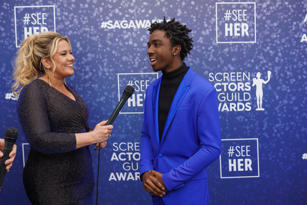 SeeHer Red Carpet Platform At The 26th Annual Screen Actors Guild Awards