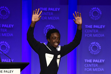 Caleb McLaughlin The Paley Center For Media's 35th Annual PaleyFest Los Angeles - 'Stranger Things' - Inside
