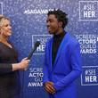 Caleb McLaughlin SeeHer Red Carpet Platform At The 	26th Annual Screen Actors Guild Awards