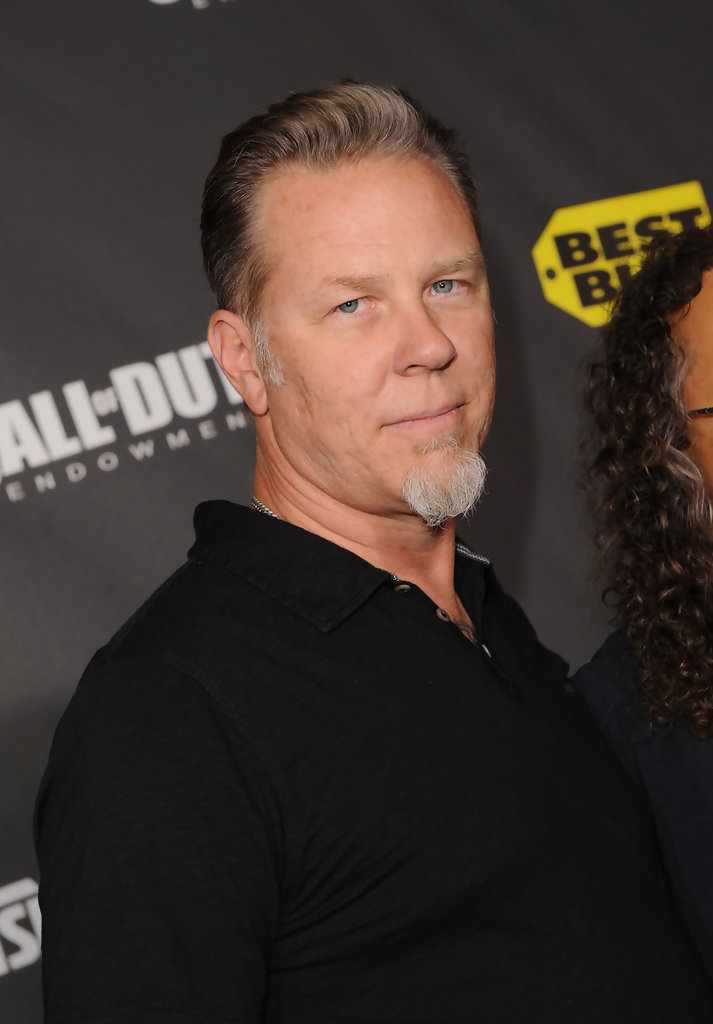 James Hetfield In Call Of Duty Black Ops Launch Party