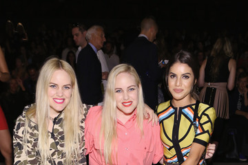 Calli Beckerman Herve Leger by Max Azria - Front Row - Spring 2016 New York Fashion Week: The Shows