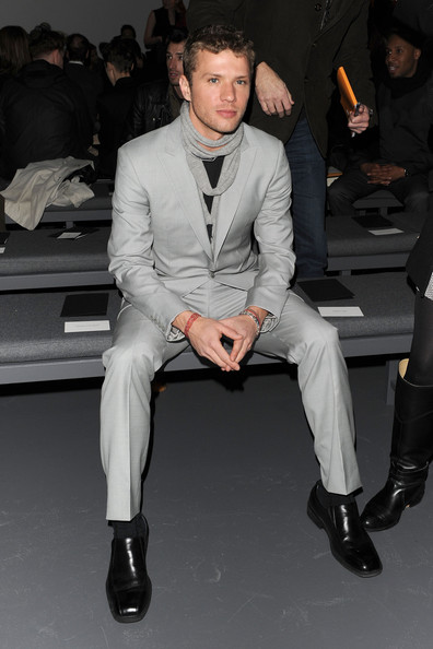 Calvin Klein Men's Collection- Front Row