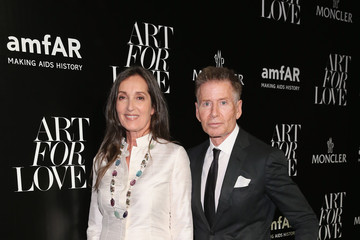 Calvin Klein Remo Ruffini, Moncler Chairman And Kevin Robert Frost, amFAR CEO Host Private Viewing And Dinner For Art For Love: 32 Photographers Interpret The Iconic Moncler Maya Jacket