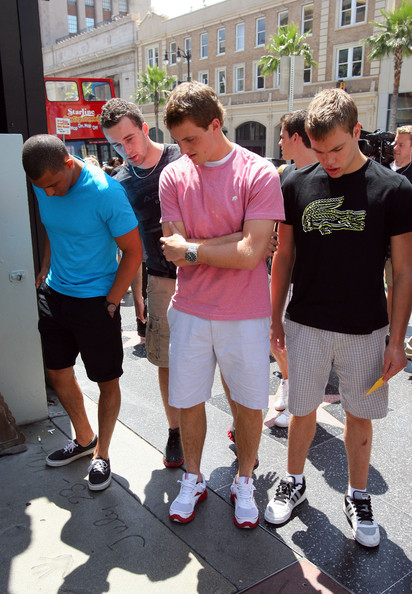 Top NHL Draft Prospects At The Hollywood Walk Of Fame