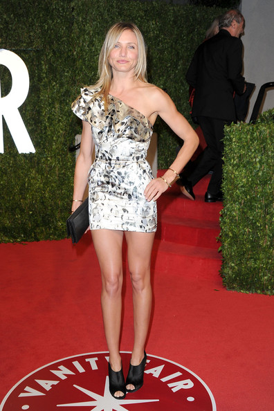 Cameron Diaz 2011 Vanity Fair Oscar Party
