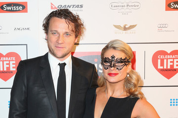 Cameron McGlinchey Arrivals at the Celebrate Life Ball