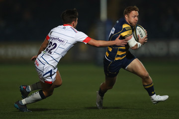 Cameron Redpath Worcester Warriors v Sale Sharks - Anglo-Welsh Cup
