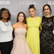 Cameron Russell Glamour Celebrates 2017 Women Of The Year Awards - Backstage