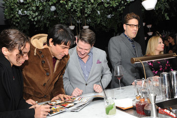 Cameron Silver Daily Front Row's 15th Anniversary Celebration