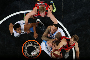Cameron Tovey Perth Wildcats v New Zealand Breakers
