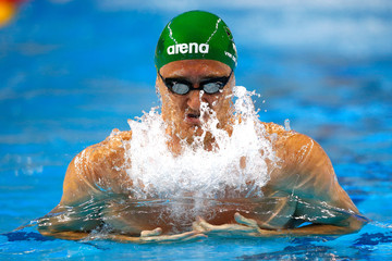 Cameron Van Der Burgh FINA World Swimming Championships: Day 2
