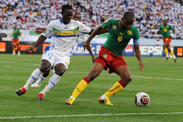 Daniel Cousin Cameroon v Gabon Group D - African Cup of Nations