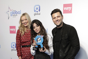 Camila Cabello The Global Awards 2020 - Winners Room