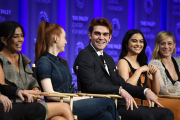 Camila Mendes KJ Apa The Paley Center For Media's 35th Annual PaleyFest Los Angeles - 'Riverdale' - Inside