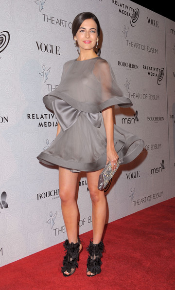 "3rd Annual Art Of Elysium ""Heaven"" Gala Event - Arrivals [fashion model,footwear,flooring,joint,shoulder,leg,fashion,catwalk,cocktail dress,carpet,arrivals,camilla belle,beverly hills,california,the art of elysium,event,annual art of elysium ``heaven gala,3rd annual black tie charity gala ``heaven]"