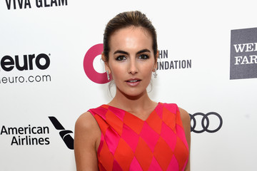 Camilla Belle Arrivals at the Elton John AIDS Foundation Oscars Viewing Party — Part 3