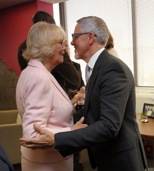 Camilla, Duchess of Cornwall Visits ITV Studios To Mark Their 60th Anniversary