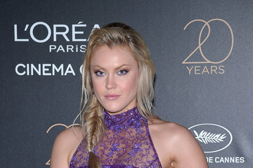 Camilla Kerslake Gala 20th Birthday of L'Oreal in Cannes - The 70th Annual Cannes Film Festival