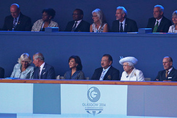 Camilla Parker Bowles 20th Commonwealth Games Opening Ceremony