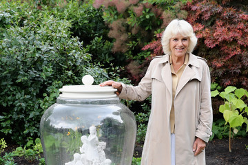 Camilla Parker Bowles The Duchess Of Cornwall Visits The BFG Dream Jar Trail