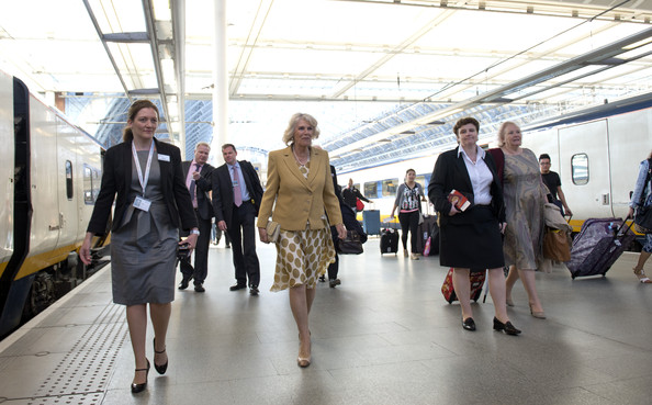 Camilla Parker Bowles Attends First Solo Overseas Engagement []