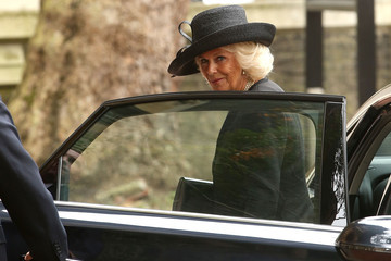 Camilla Parker Bowles Memorial Service For Mark Shand
