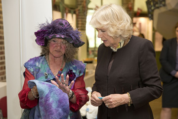 Camilla Parker Bowles The Duchess of Cornwall, President of the Royal Voluntary Service Attends the Launch of GrandFest