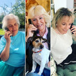 Camilla Parker Bowles Duchess Of Cornwall Silverline Charity Phonecall