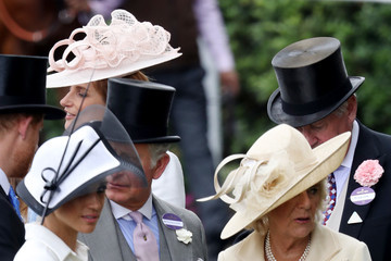 Camilla Parker Bowles Meghan Markle Royal Ascot 2018 - Day 1
