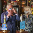 Camilla Parker Bowles The Prince Of Wales And The Duchess Of Cornwall Visit Clapham Old Town