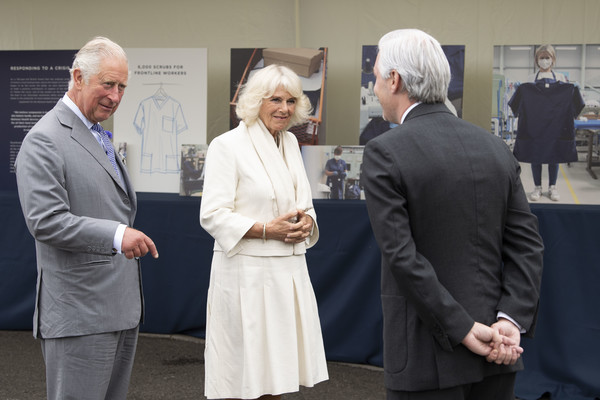 The Prince Of Wales And The Duchess Of Cornwall Undertake Engagements In Bristol And Gloucester