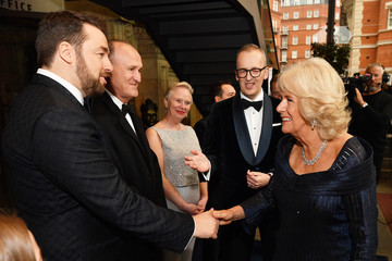 Camilla Parker Bowles The Olivier Awards With Mastercard - VIP Arrivals