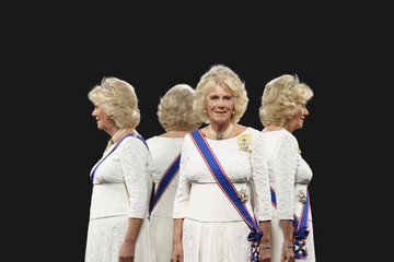 Camilla Parker Bowles The Royal Household Release Royal Portraits by British Photographer Hugo Rittson Thomas