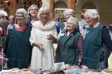Camilla Parker Bowles The Prince of Wales and Duchess of Cornwall Visit Devon and Cornwall - Day 2