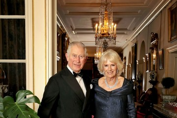 Camilla Parker Bowles HRH The Prince of Wales Birthday Family Portrait