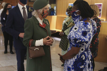 Camilla Parker Bowles Queen Elizabeth Attends The Opening Of The Scottish Parliament
