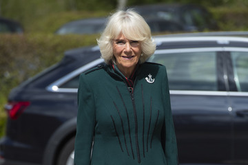 Camilla Parker Bowles The Duchess Of Cornwall, Colonel-In-Chief, The Rifles, Visits 5th Battalion The Rifles, Wiltshire