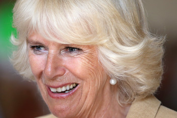 Camilla Parker Bowles Fashion Festival in Edinburgh
