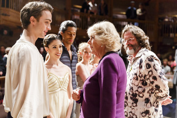 Camilla Parker Bowles The Prince of Wales & Duchess of Cornwall Mark the 400th Anniversary of Shakespeare's Death