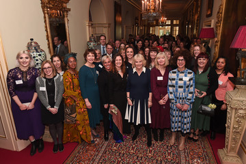 Camilla Parker Bowles The Duchess Of Cornwall Hosts A Reception To Acknowledge The 15th Anniversary Of Domestic Abuse Charity SafeLives