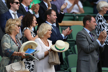 Camilla Parker Bowles Day Four: The Championships - Wimbledon 2015