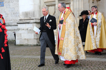 Camilla Parker Bowles Service of Thanksgiving for Lady Soames