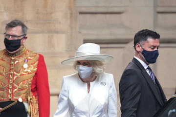 Camilla Parker Bowles State Opening Of Parliament 2021