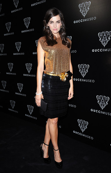Camille Belle Photos Photos  Gucci Museum Opening In Florence  Arrivals  Z -> Tabé Camille