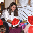 Camille Gottlieb Christmas Gifts Distribution At Monaco Palace in Monte-Carlo
